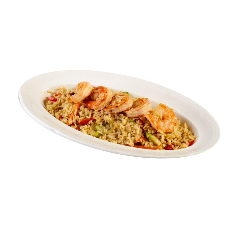 Рис Кубан с креветками