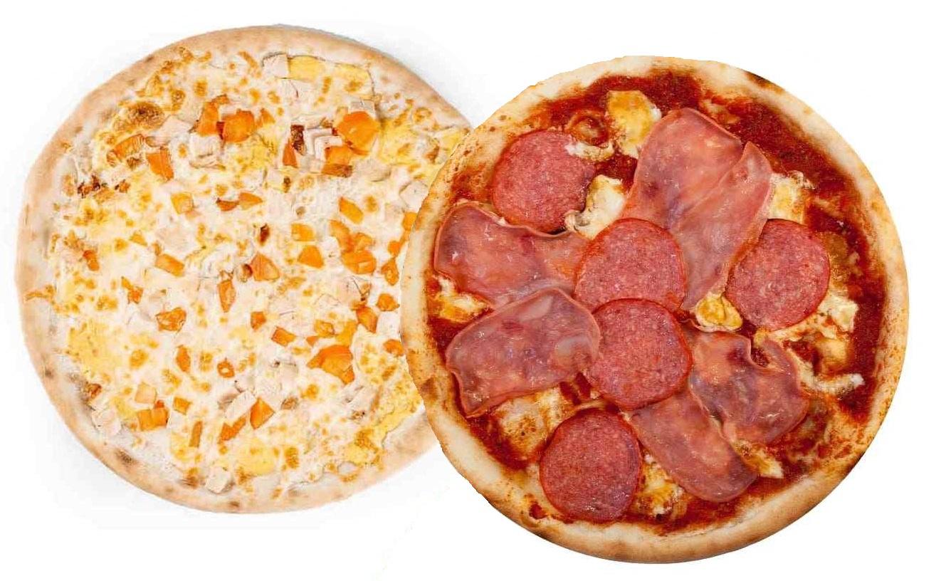 Комбо 2 пиццы (25 см)